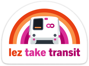 Lez Take Transit Sticker – BART