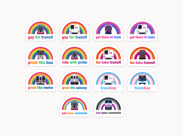 The Pride Collection: Full Sticker Set