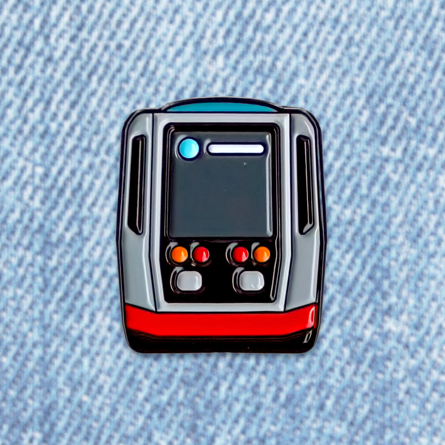 "San Francisco Muni ""Breda"" Pin"