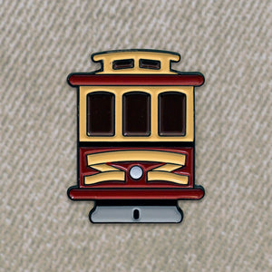 SF Cable Car Pin