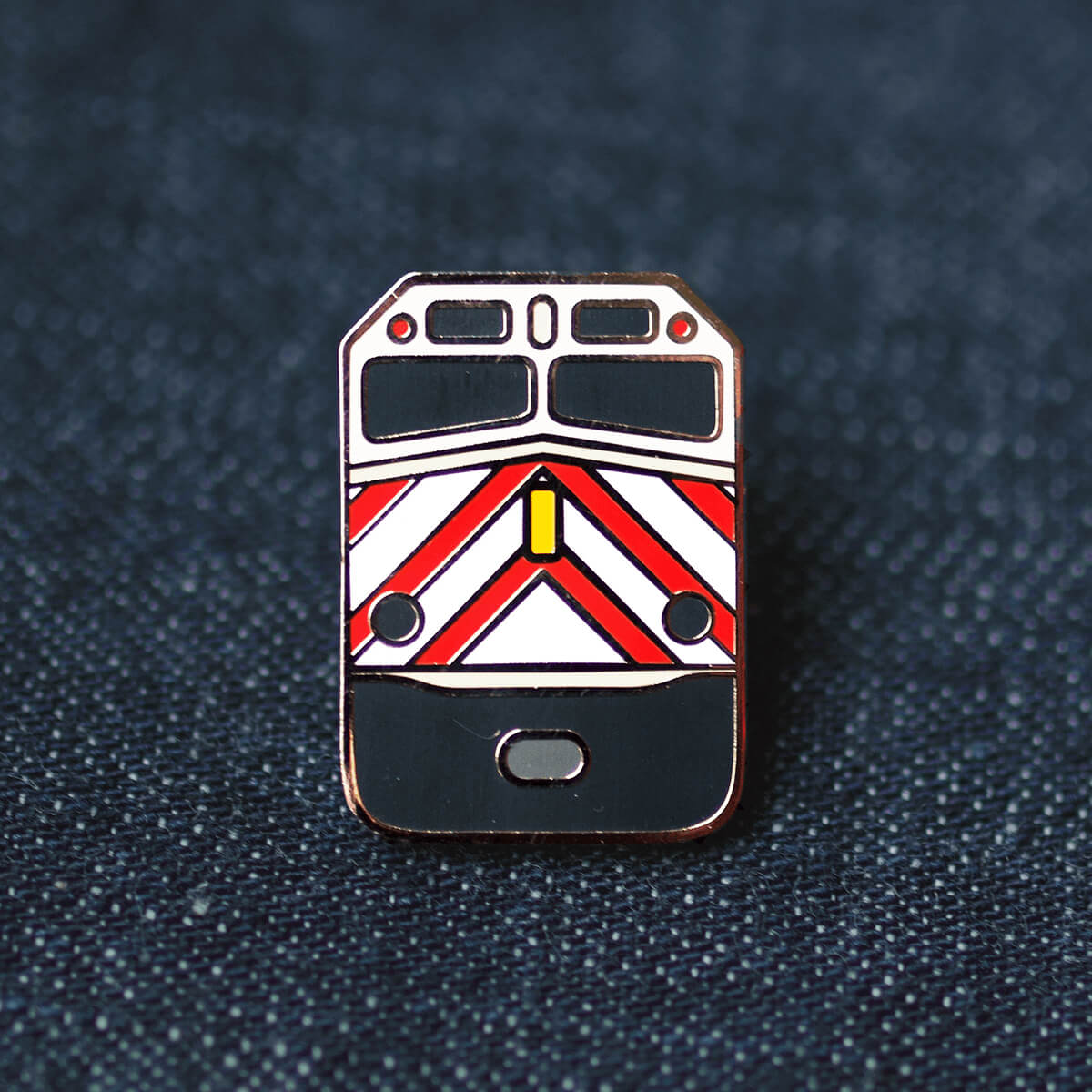 "Caltrain ""Gallery"" Pin"