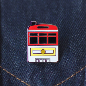 San Francisco Car #1 Enamel Pin