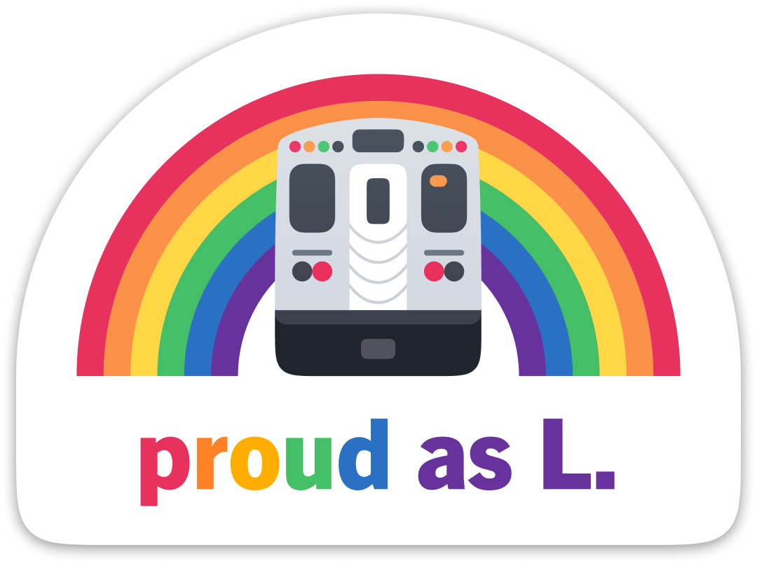 Proud as L Sticker – Chicago