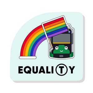 Equali(T)y Sticker