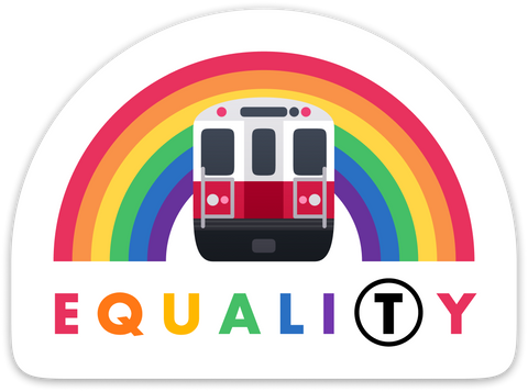 Equali(T)y Sticker – MBTA