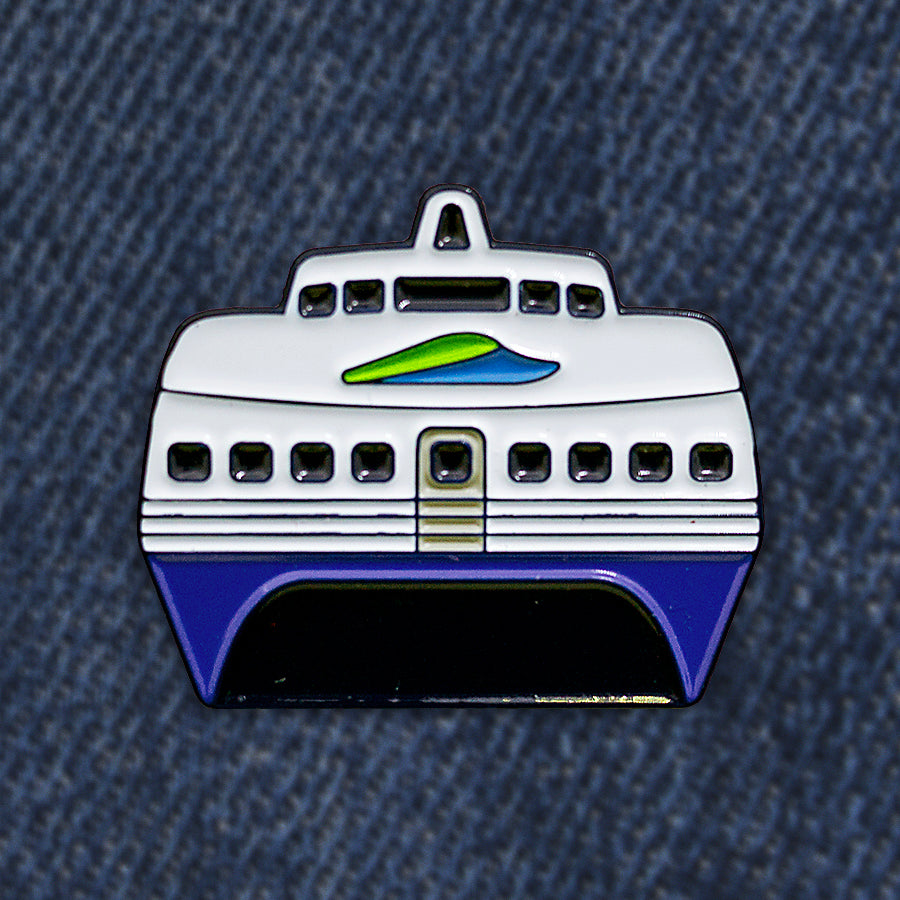 Bay Ferry Pin