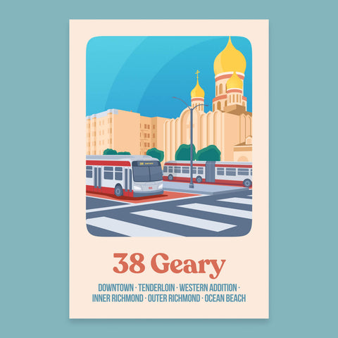 38 Geary Print