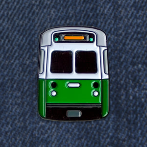 MBTA Green Line Pin