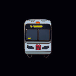 San Francisco Bus Enamel Pin