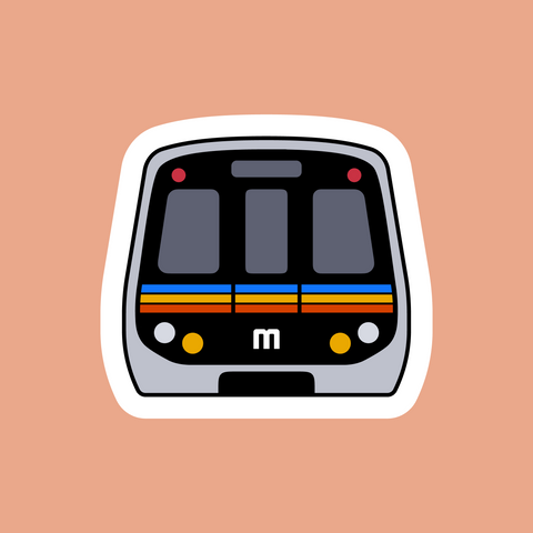 MARTA Train Sticker