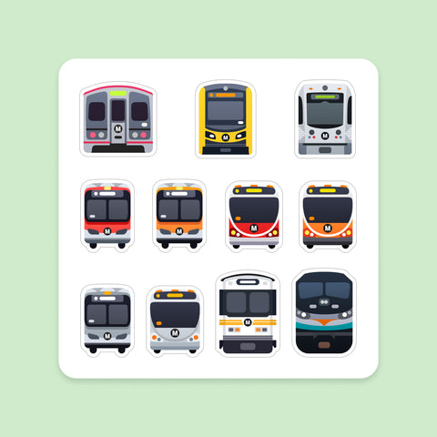 Magnet Sheet: Los Angeles Transit