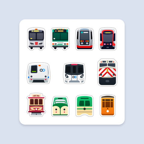 Magnet Sheet: Bay Area Transit