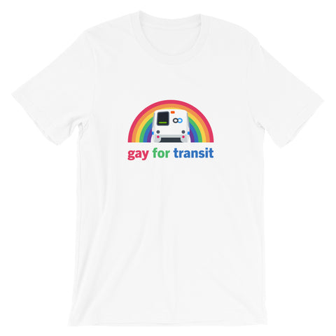 Gay For Transit: BART – Unisex Fit