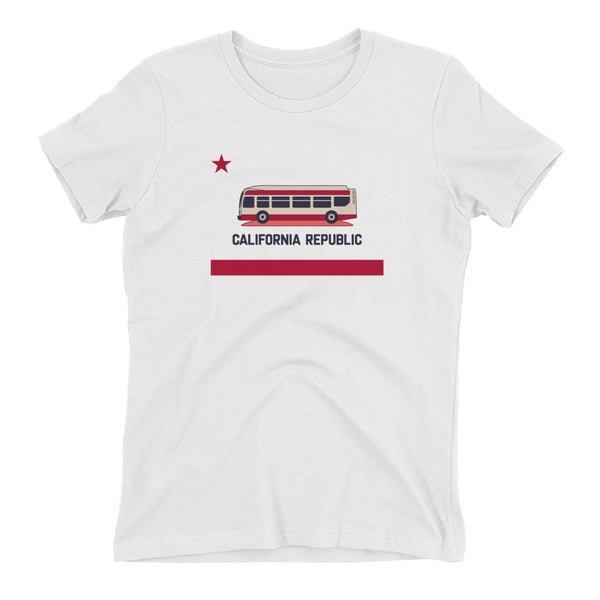 California Republic Bus Shirt – Women's Fit