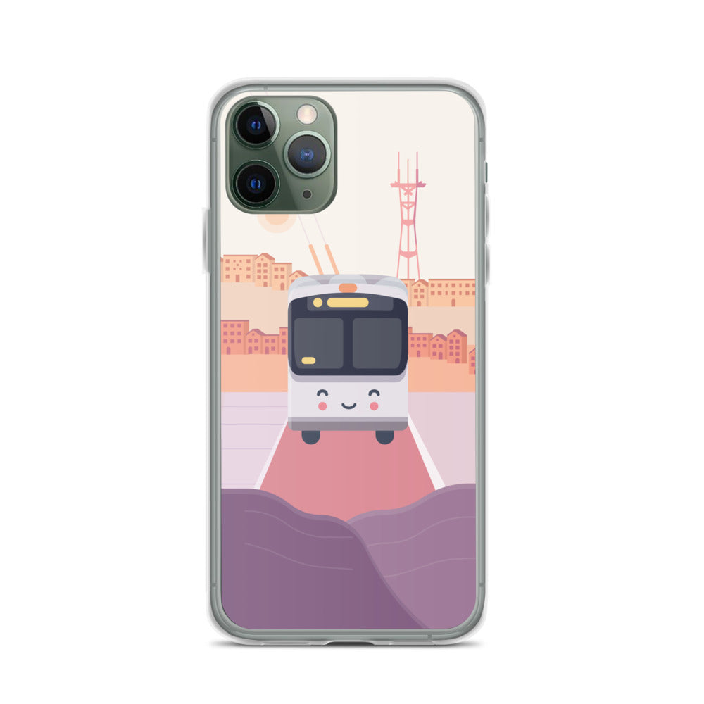 Happy Bus iPhone Case