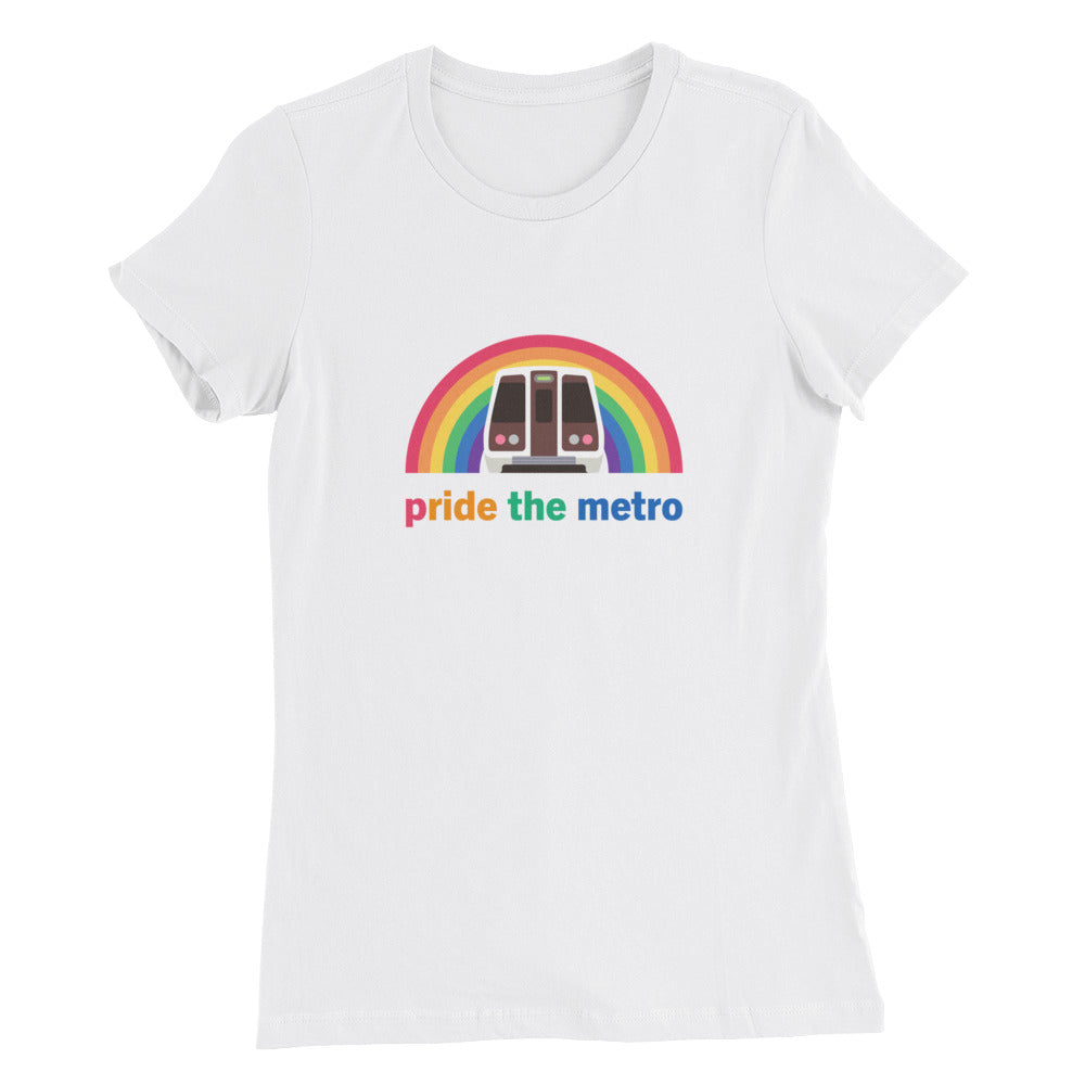Pride the Metro Shirt: Washington, D.C. – Women's Fit