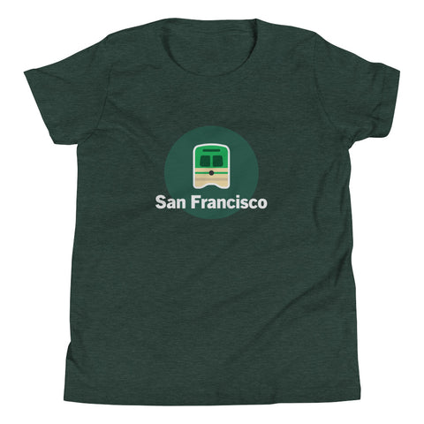 Youth San Francisco Streetcar Shirt