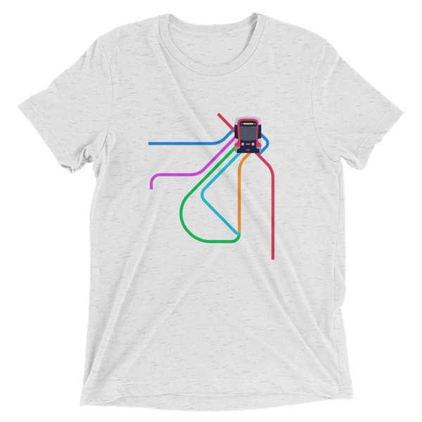 Muni Metro 2021 Map Shirt