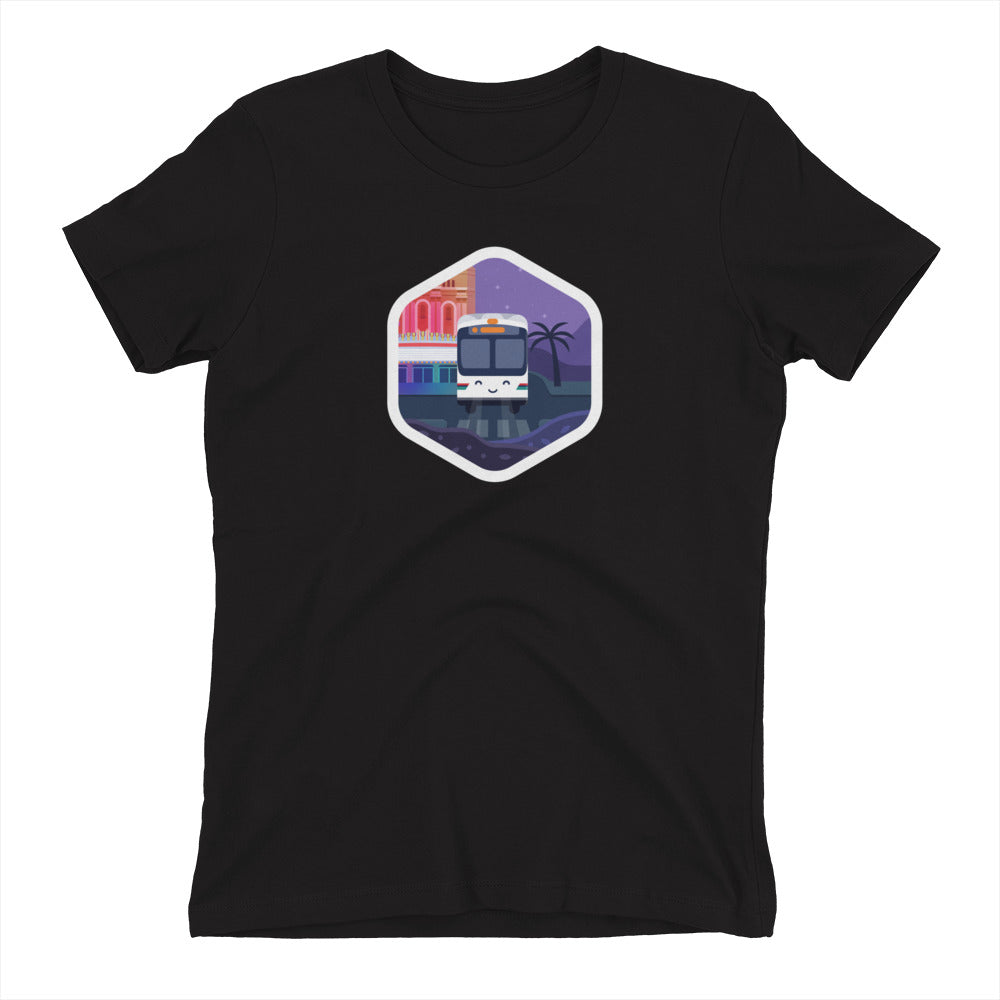 AC Transit Bus Hexagon Shirt – Women's Fit