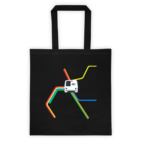 BART Map Tote
