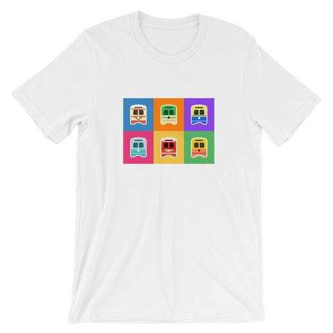 Pop Art Streetcars Shirt