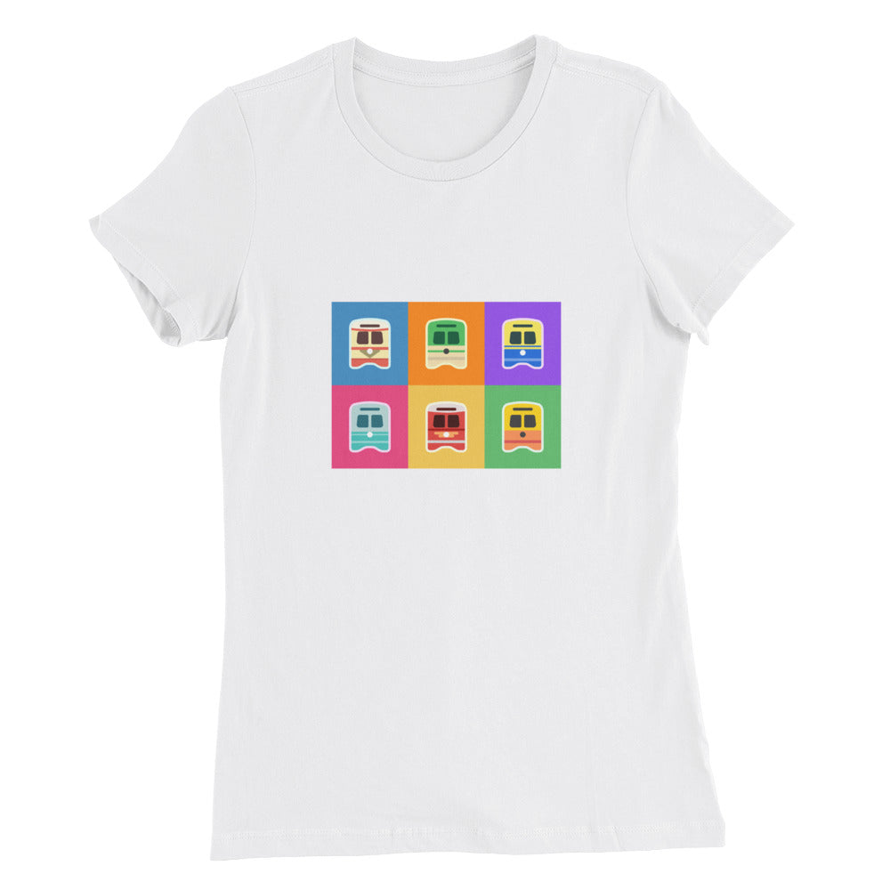 Pop Art Streetcars Shirt – Women's
