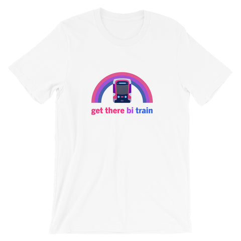 Get There Bi Train: Muni Metro – Unisex Fit