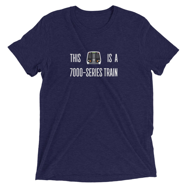 DC Metro - This is a 7000-series train – Unisex Fit