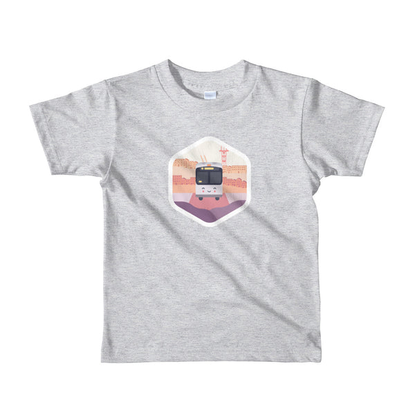 (2yrs – 6yrs) Happy Bus Hexagon Shirt