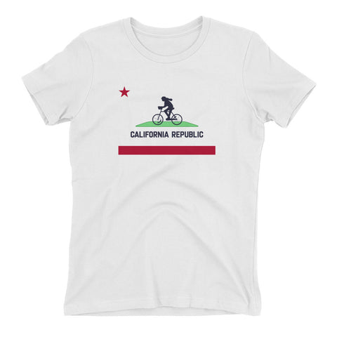 California Republic Bike Shirt – Women's Fit