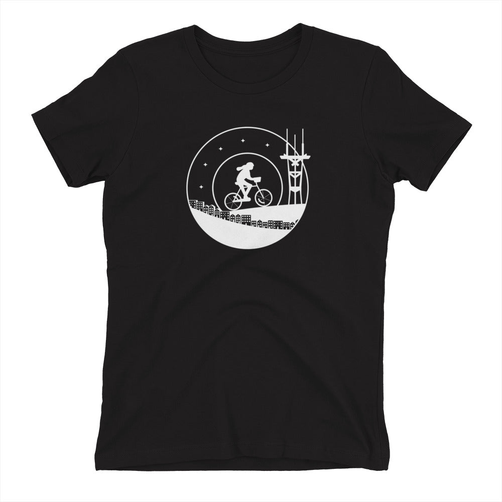 Bike & Sutro Tower Shirt – Women's Fit