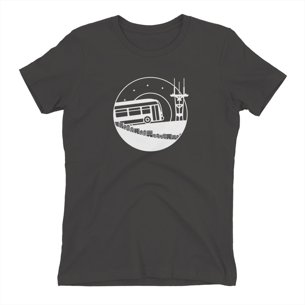 Bus & Sutro Tower Shirt – Women's Fit
