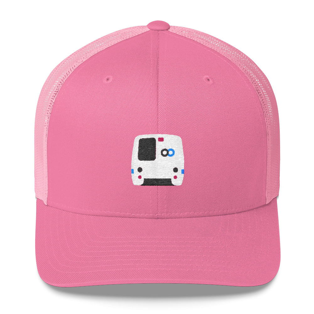 BART Trucker Hat – Low Profile