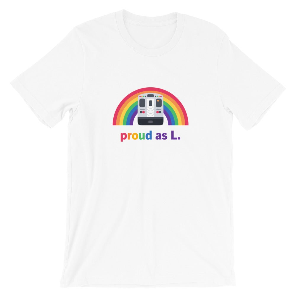 Proud as L Shirt: Chicago – Unisex Fit