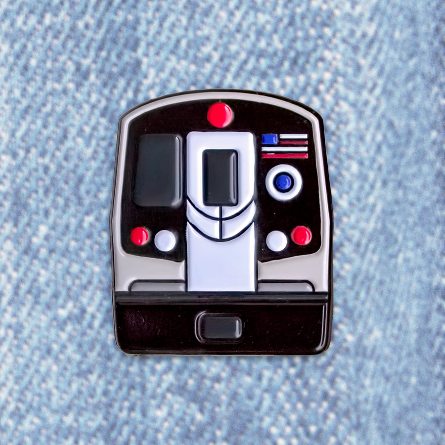 NYC Modern Subway Pin