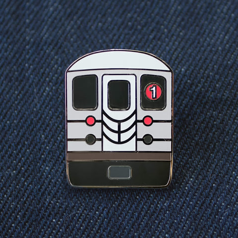 New York Subway Enamel Pin