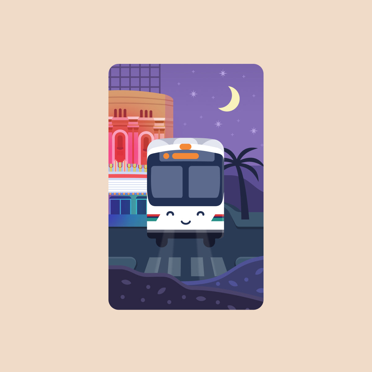 AC Transit Bus Transit Card Sticker