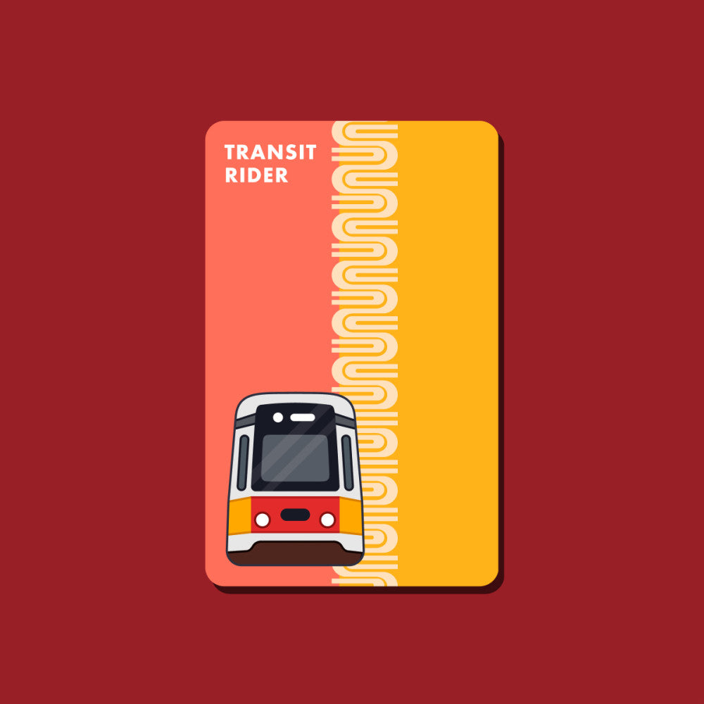 Retro Muni Fast Pass Transit Card Sticker