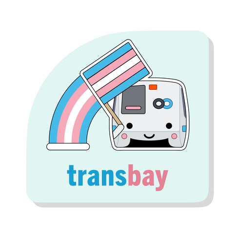 Transbay Sticker: BART