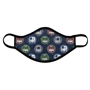 Transit-themed Cloth Face Mask