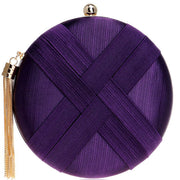 Round Silk Chain Bag