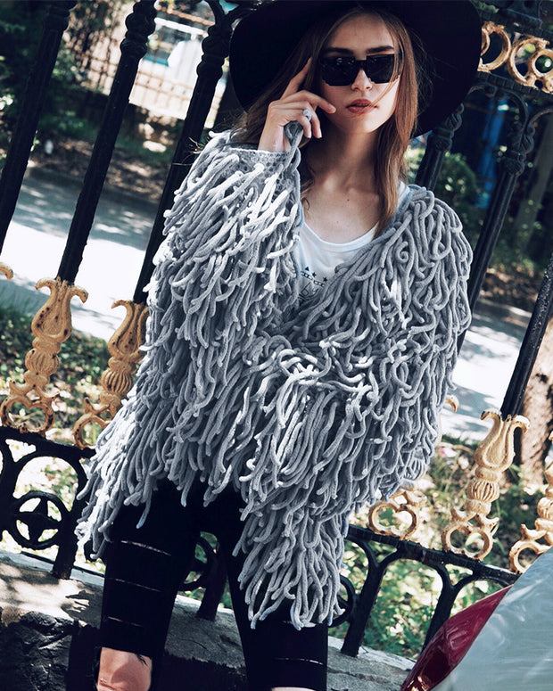 Big Great Tassel Coat