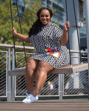 In Every Direction Plus Size Shirt Dress