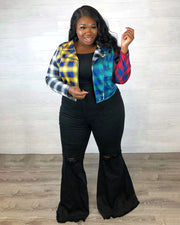 To Meet the Rainbow Plus Size Jacket