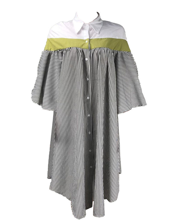 Wake Up Oversize Shirt Dress