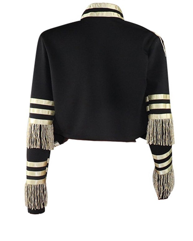 Tassel Gold&Black Jacket