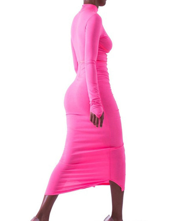 I Know Places All Cotton Bodycon Dress