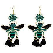 Greet The Spring Tassel Earrings 1Pair