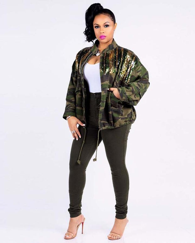 The Solid Gold Camo Jacket