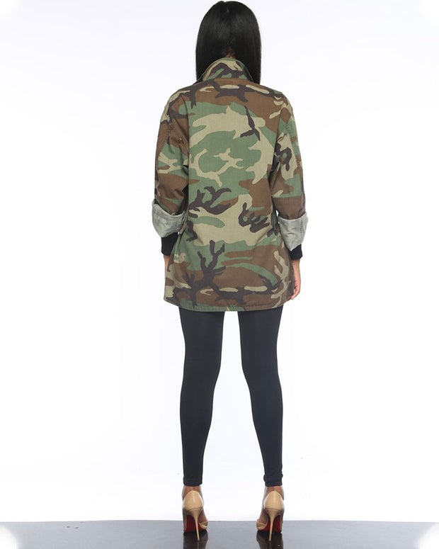 Camouflage Package Front Jacket